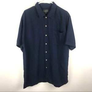David Taylor XL Short Sleeve Button Down Shirt